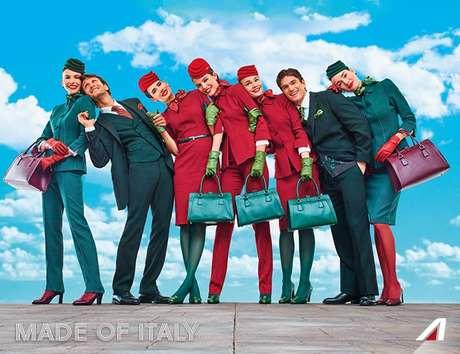 Alitalia - Novos uniformes